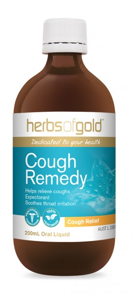 Image of Herbs of Gold Cough Remedy 200ml
