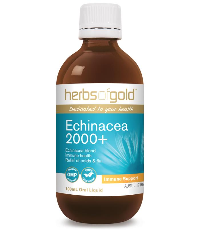 Image of Herbs of Gold Echinacea 2000+ 100ml