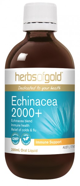 Image of Herbs of Gold Echinacea 2000+ 200ml