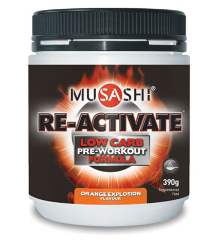 musashi-re-activate-low-carb-390g-ultimate-preworkout-supercharge