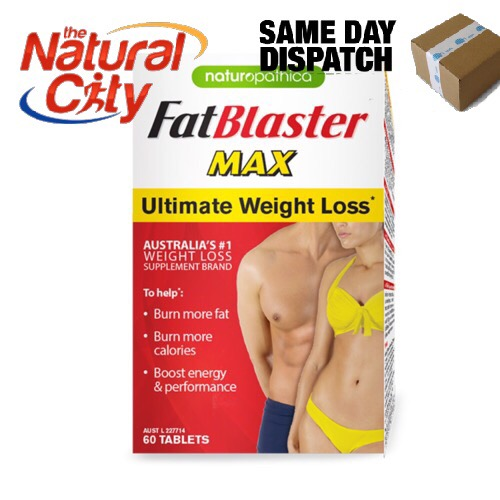 Image of Naturopathica Fat Blaster Max 60tabs with Svetol -SAVE $15-