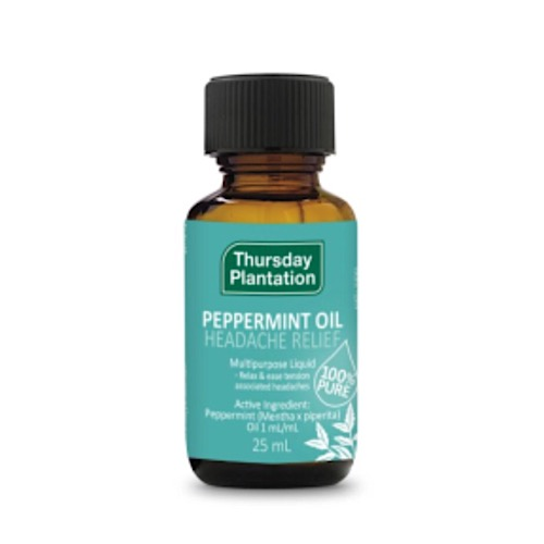 Image of Thursday Plantation PEPPERMINT OIL 25ml- Headache Relief