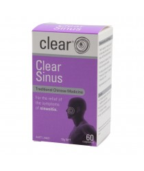 Image of Clear Sinus by Clear Health, 60 Capsules