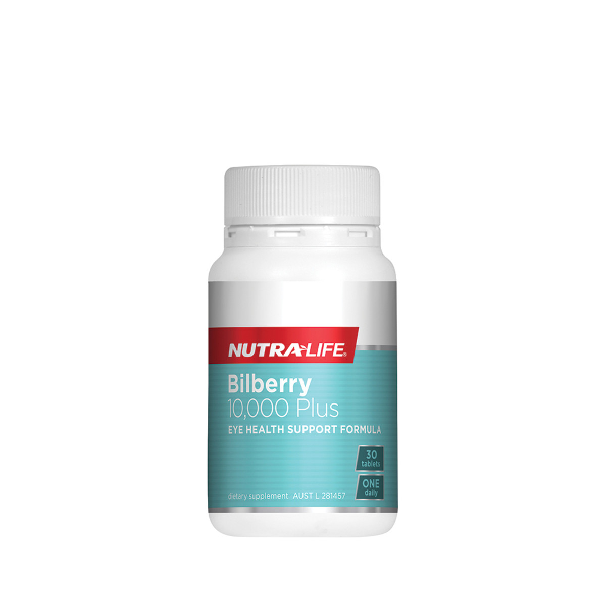 Image of Nutra Life Bilberry 10000 Plus Lutein Complex 30 or 60tabs