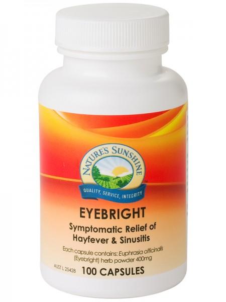 Image of Nature's Sunshine Eyebright 100caps