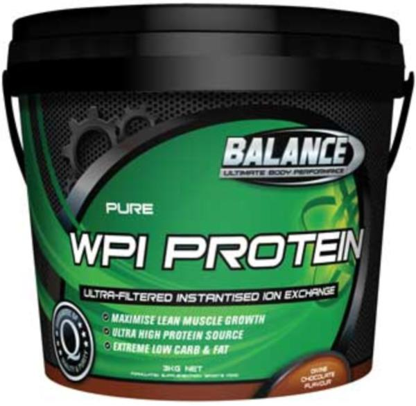 Balance Pure WPI Protein 3kg-unflavoured