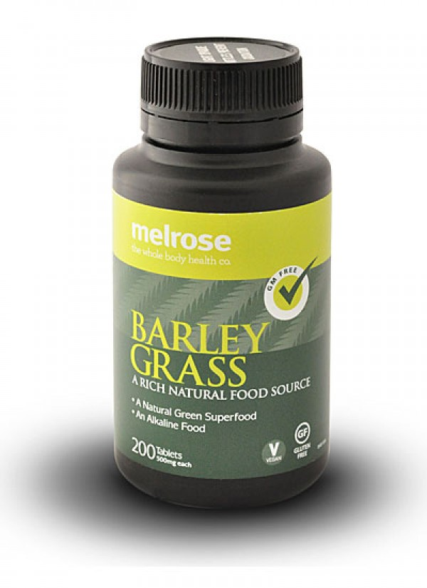 Image of Melrose Clean Green Barley Grass 500mg 200tabs