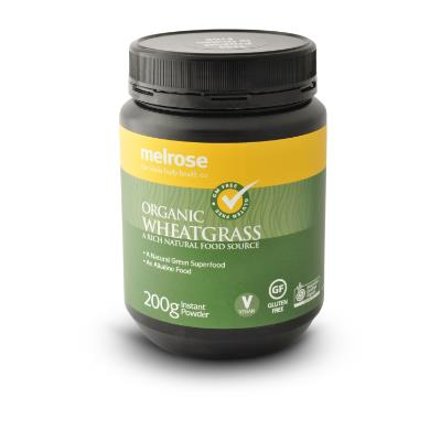 Image of Melrose Clean Green Wheat Grass Powder 200g
