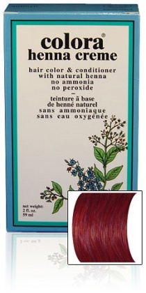 Image of Colora Henna Cream 59ml-Burgundy