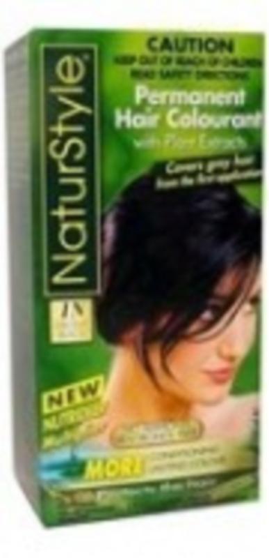 Image of Naturstyle 1N Ebony Black 155ml
