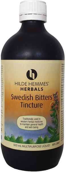 Image of HILDE HEMMES - SWEDISH BITTERS ALL SIZES - HERBAL TONIC