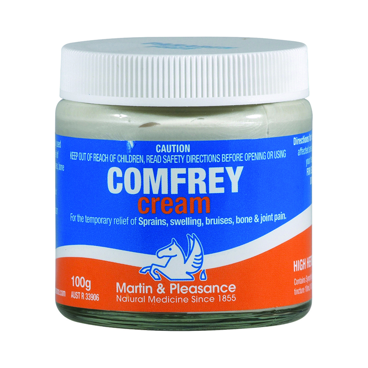 Image of Martin & Pleasance Comfrey cream 100g