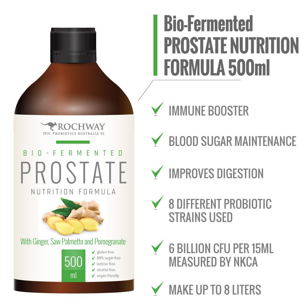 Image of Rochway Ginger Prostate Nutrition Formula Punch 500ml