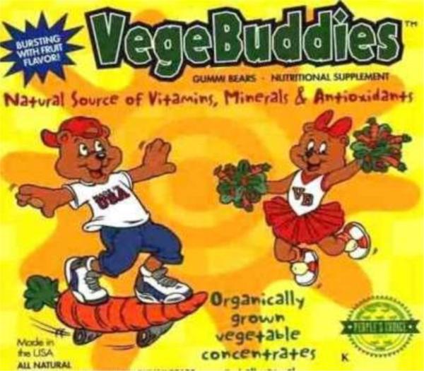 Image of VegeBuddies 162g- 81gummi bears
