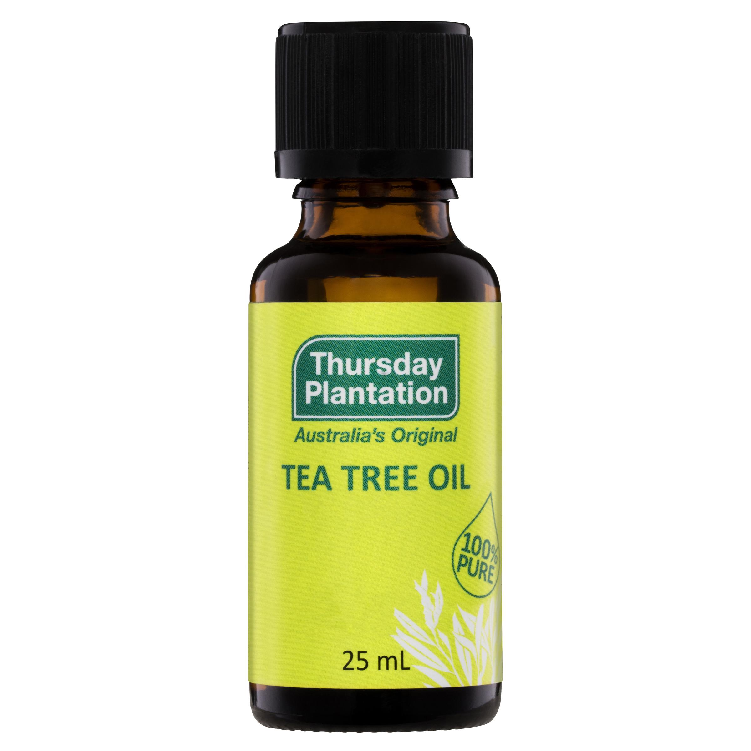 Image of Thursday Plantation 100% Pure Tea Tree Oil 25ml 1 bottle or 3 bottles