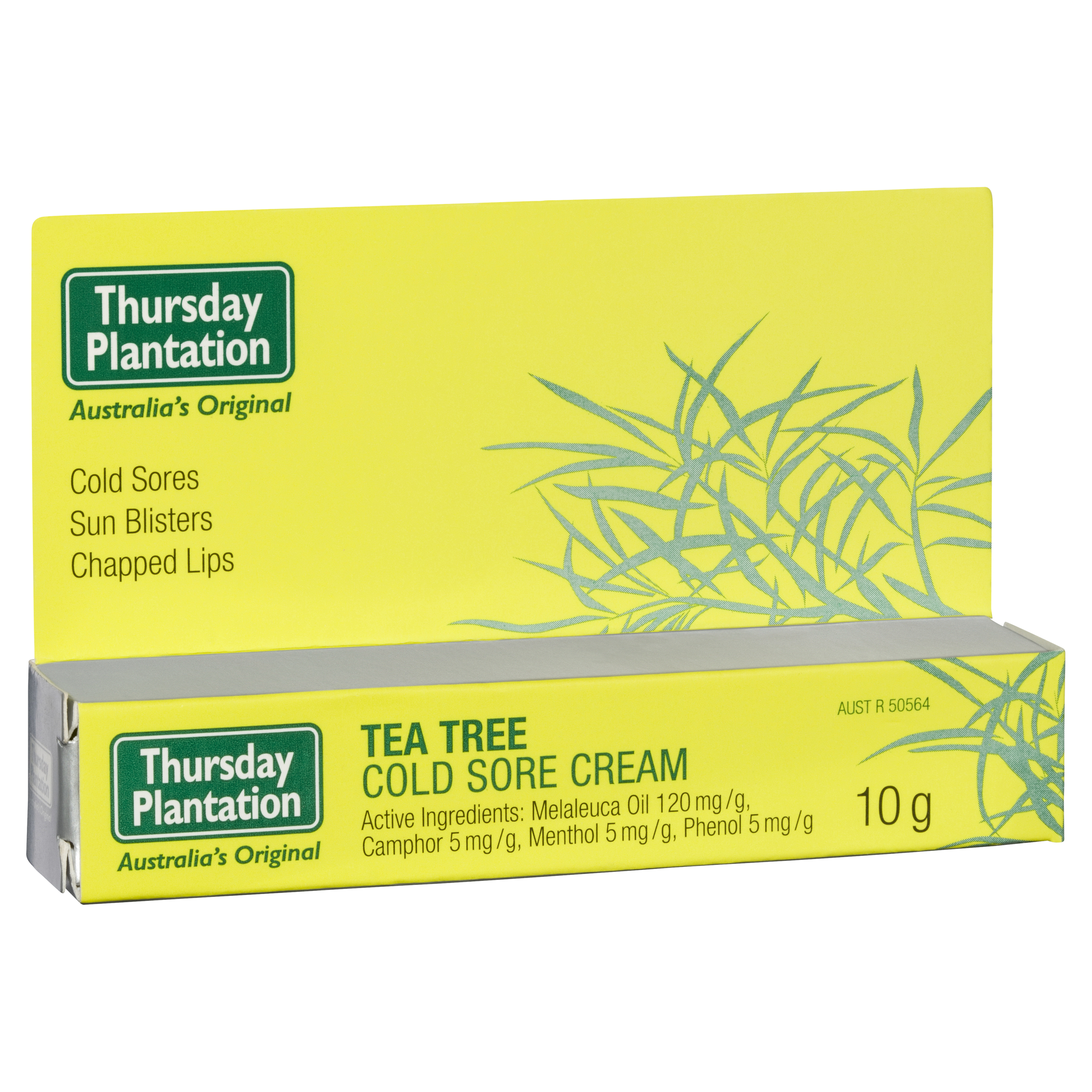 Image of Tea Tree Cold Sore Cream 10gm