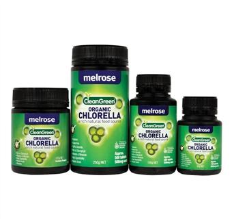 Image of Melrose Clean Green Chlorella 500mg 500tabs