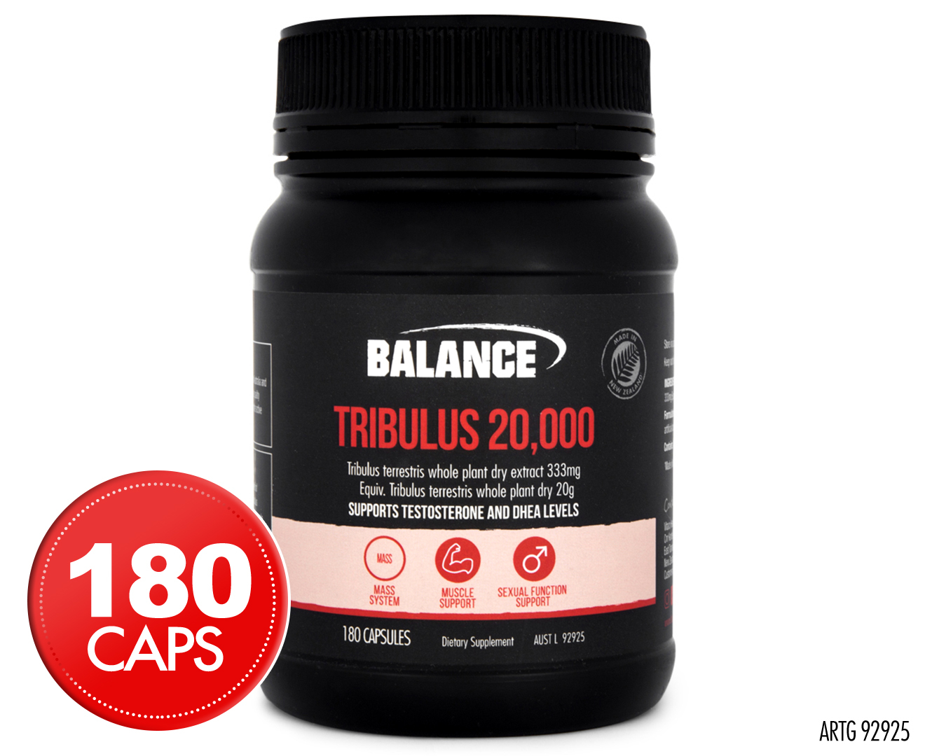Image of Balance Tribulus 20000 60caps &180caps