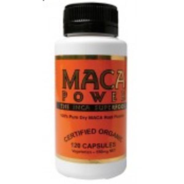 Image of Maca Power Organic Maca 550mg 100vegecaps