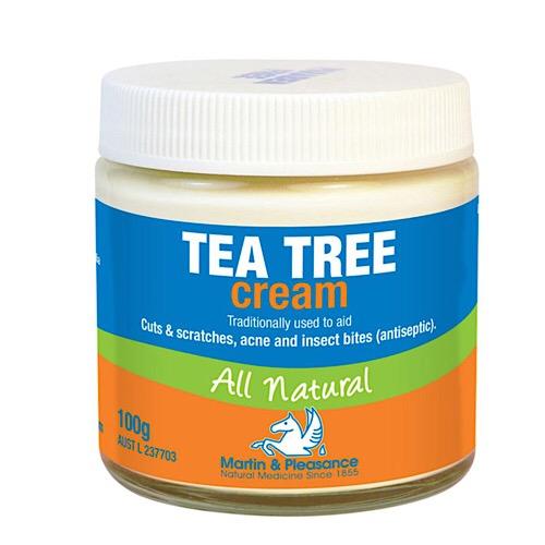 Image of Martin & Pleasance Tea Tree Cream 100g