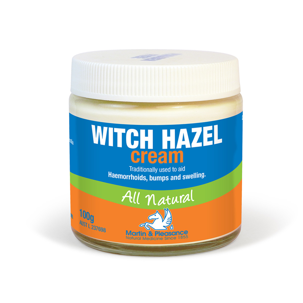 Image of Martin & Pleasance Hamamelis Witch Hazel Cream 100g for haemorrhoids r