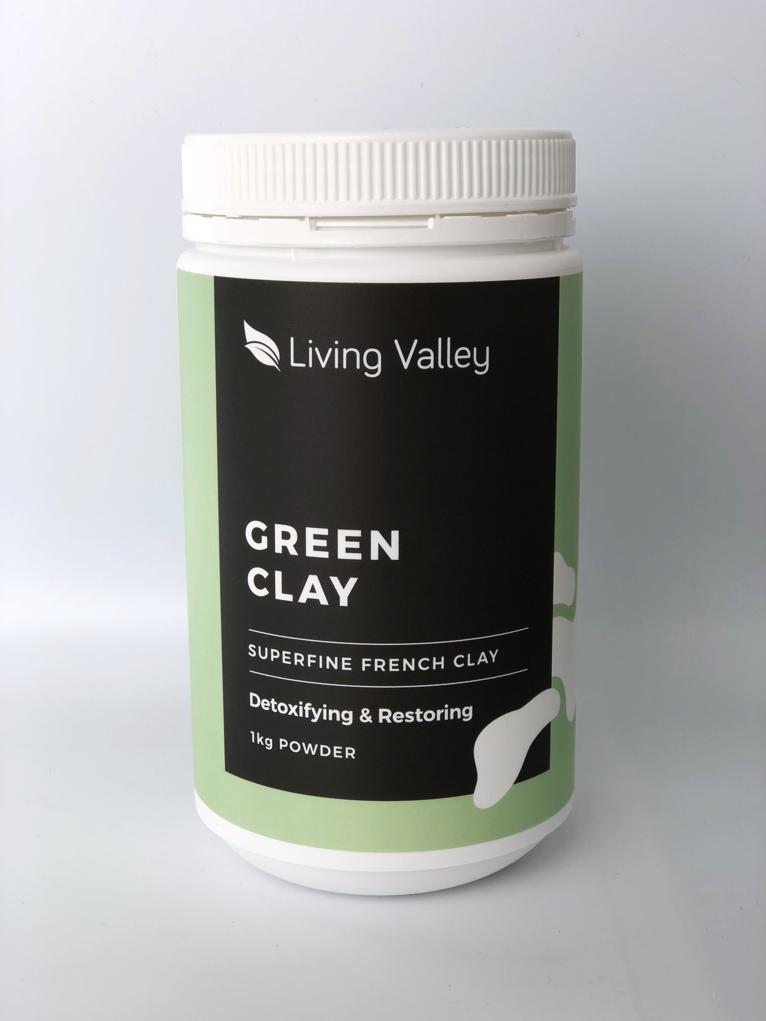 Image of Living Valley Green Clay 1kg