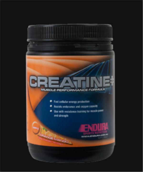 Image of Endura Creatine Plus 500g (Instant preworkout energy blast)