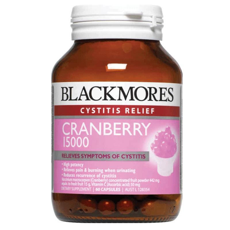 Image of Blackmores Cranberry 15000 60caps- save 40%