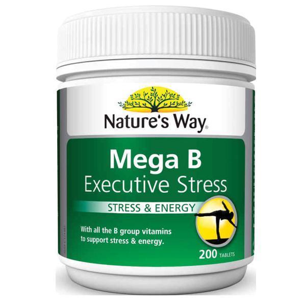 Image of Nature's Way Mega B- Executive Stress 200 tabs