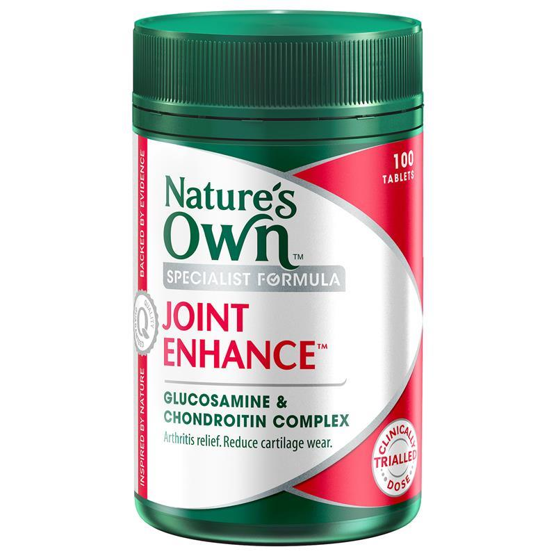 Image of Nature's Own Joint Enhance Glucosamine & Chondroitin Complex with Eas