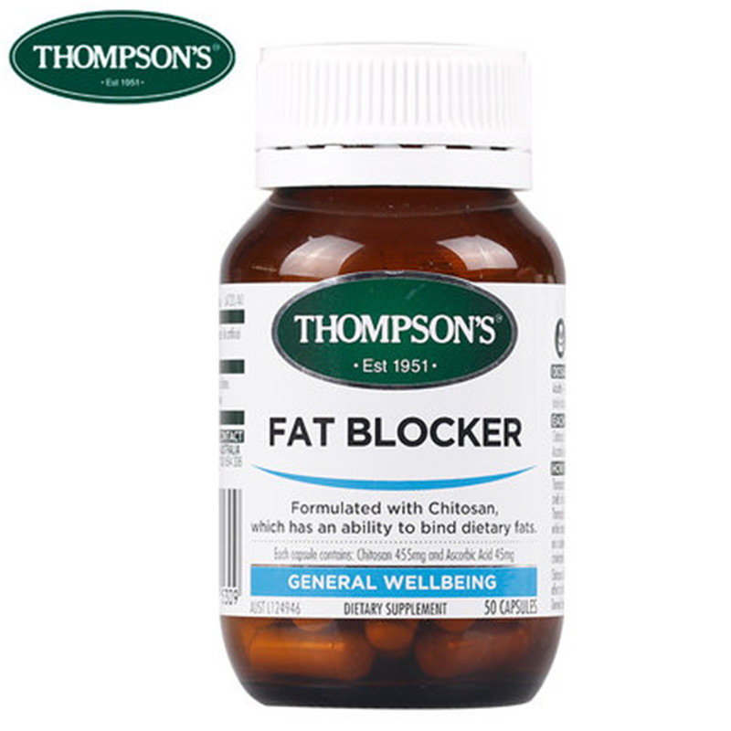 Image of Thompson's Fat Blocker (Chitosan) 50 caps