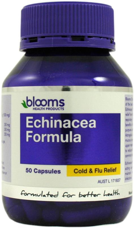Image of Blooms Echinacea Formula New 50caps