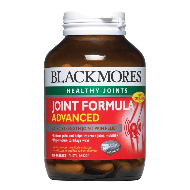 Blackmores Joint Formula Advanced 120tabs- New Potent Formula- SAVE $20
