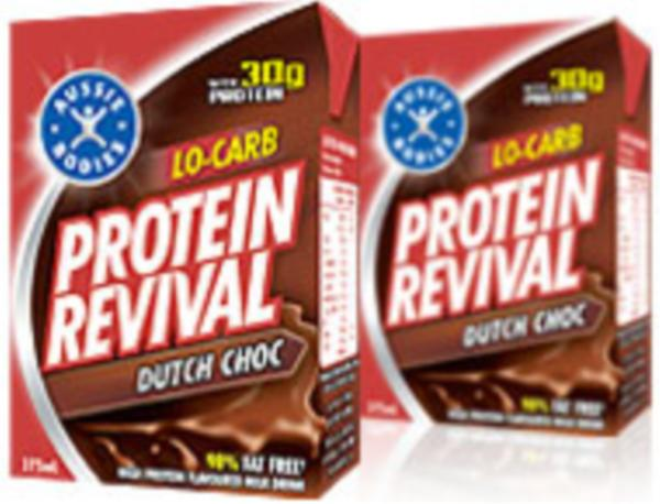 Aussie Bodies Low Carb Protein Revival 375ml- Massive Saving