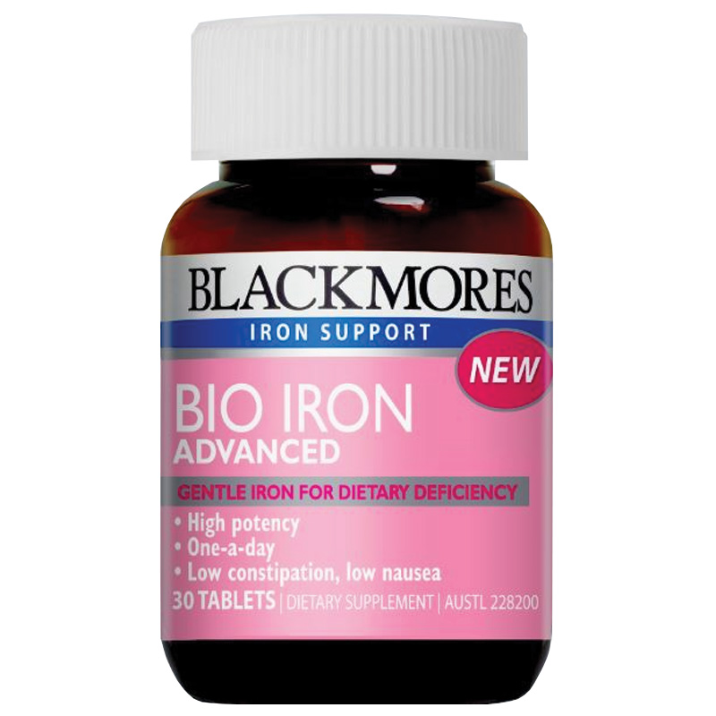 Blackmores Bio Iron Advanced 30tabs for Women