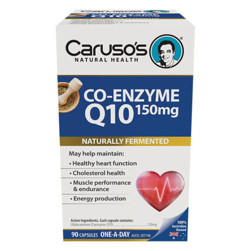 UltraMAX Co-Enzyme Q10 90tabs by Caruso's