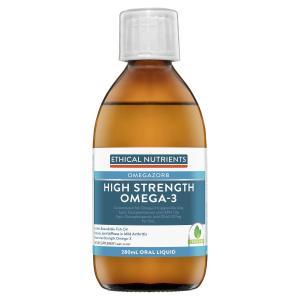 Ethical nutrients high strength liquid fish oil 170ml also for Liquid fish oil