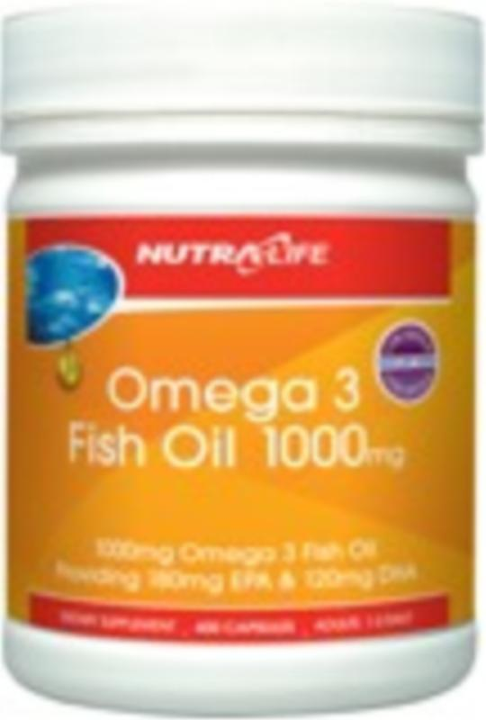 Nutra Life Omega 3 Fish Oil 1000mg 200caps
