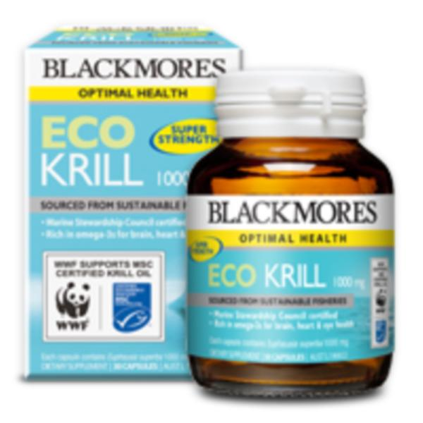 Blackmores Eco Krill 1000mg 30caps