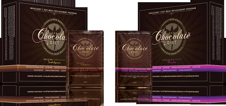 The Chocolate Diet - Your 7 day Shap-Up plan in a box- Only $24.95 Plus Free authentic shaker For a Limited Time
