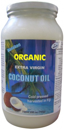 Banaban ORGANIC* Extra Virgin Coconut Oil 750ml