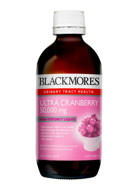 Blackmores Ultra Cranberry 50,000 mg liquid 200ml- 50%OFF