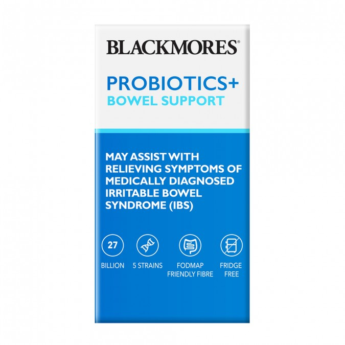 BLACKMORES Probiotics+ Bowel Support 30 pack