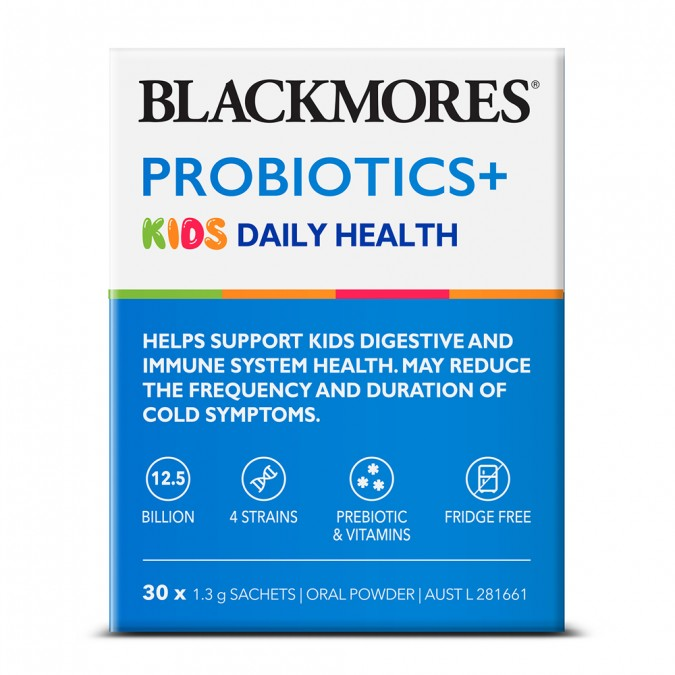 BLACKMORES Probiotics+ Kids Daily Health 30 pack