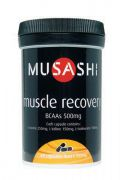 Image of Musashi Muscle Recovery - BCAA'S 60cap
