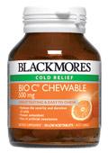 Image of Balckmore Bio C Chewable 500mg 50tabs
