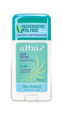 Alba Organic Deodorant Tea Tree 55g