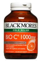 Image of Blackmores Bio C 1000mg 150tabs x 2 bottles- SAV E $28