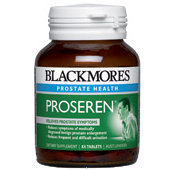 Blackmores Proseren for Prostate Care 120 caps x 3 SAVE$41