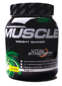 Image of Vital Strength Pro Muscle Plus Weight Gainer 2kg- save $35